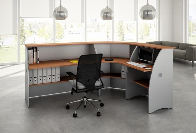 Reception mod malta ecoufficio for Reception scrivania