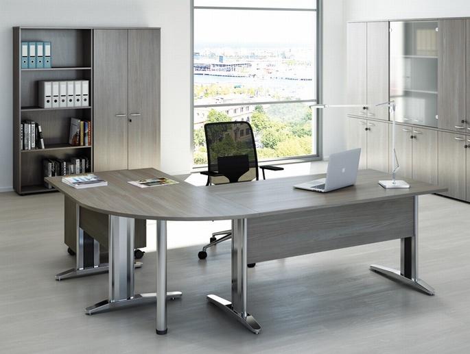 Scrivania Ufficio Operativa : Scrivanie operative altezza cm da ufficio emmesystem