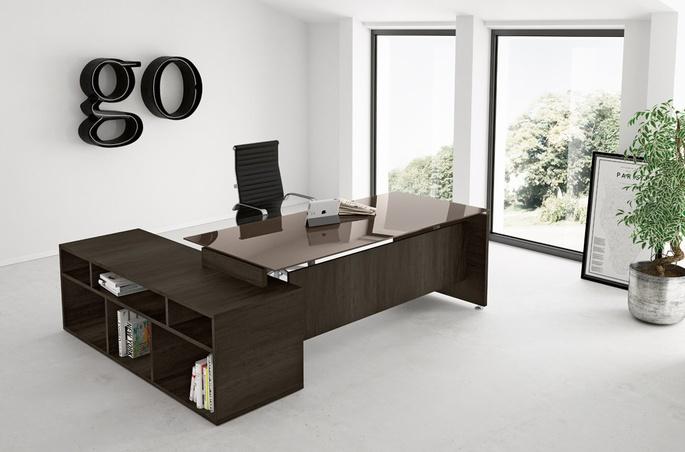Scrivania Ufficio Design : Ufficio direzionale completo scrivania design wastepipes