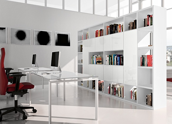 Libreria modulare mod go ecoufficio for Libreria modulare