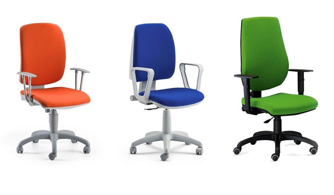 Ecoufficio mobili per ufficio a basso costo for Sedie costo