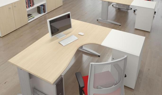 Ecoufficio mobili per ufficio a basso costo for Scrivanie per ufficio