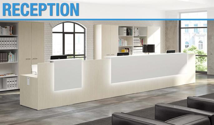 Ecoufficio mobili per ufficio a basso costo for Mobili ufficio reception
